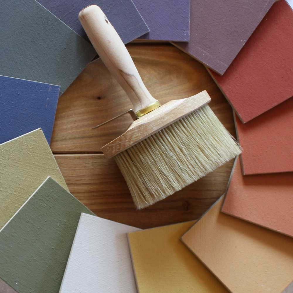 Naturfarben für die wohngesunde Wandgestaltung