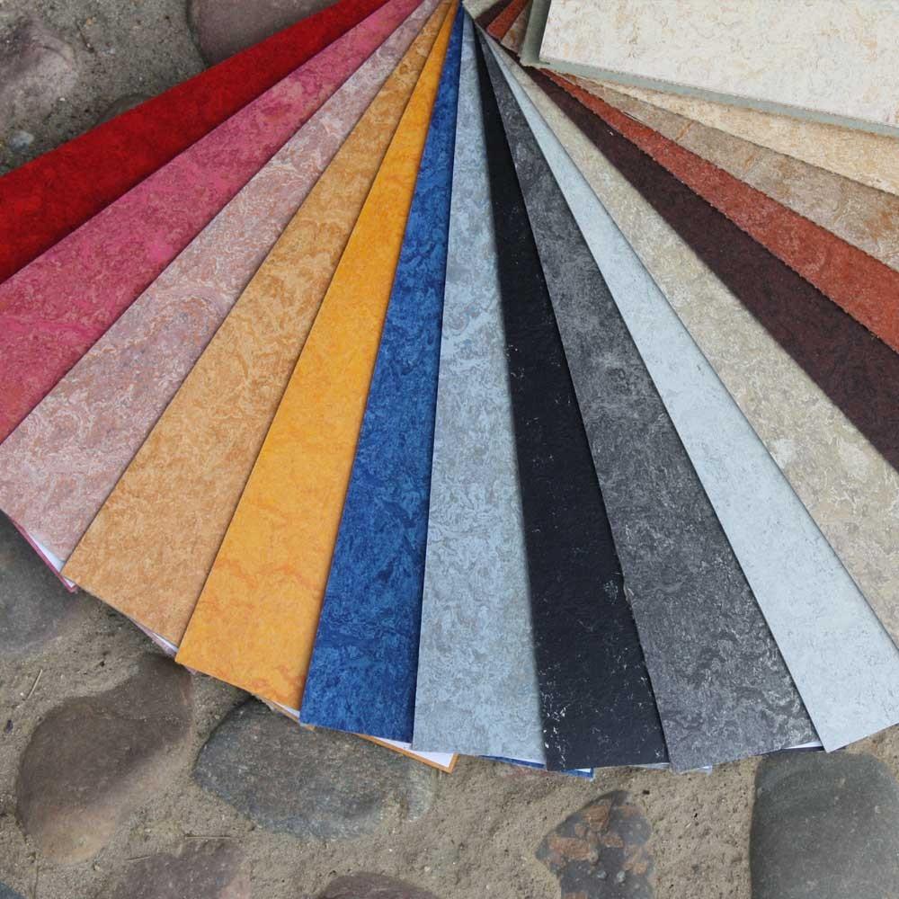 Fußböden aus Naturmaterialen