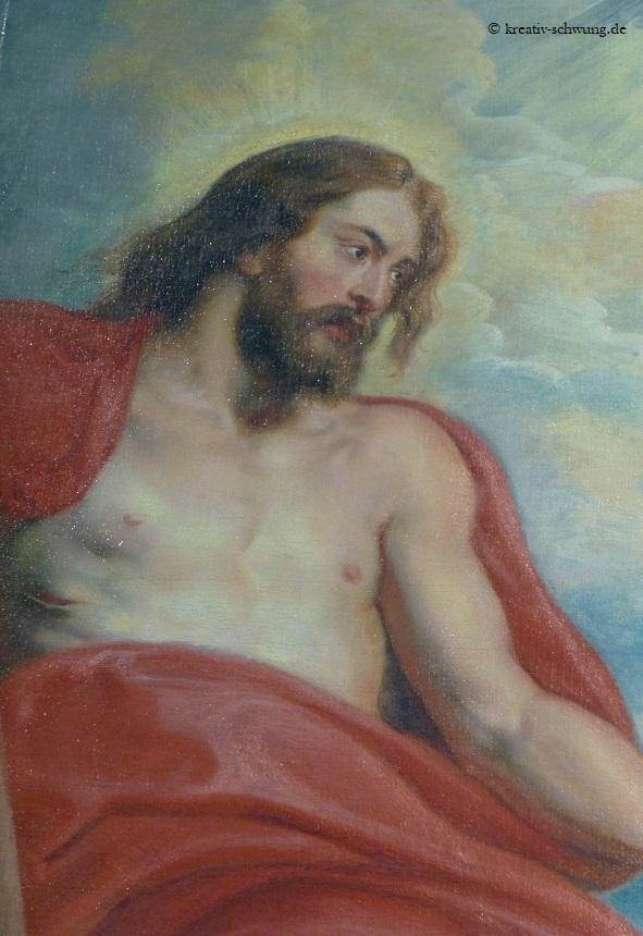 Die heilige Dreifaltigkeit (Detail)
