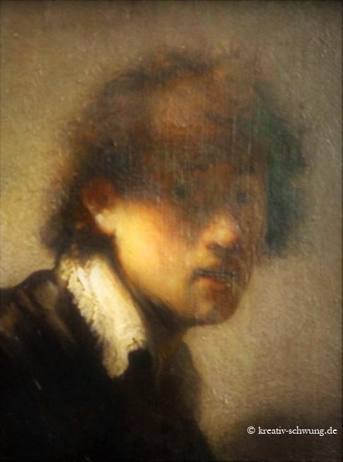 Alte Pinakothek, Rembrandt in jungen Jahren