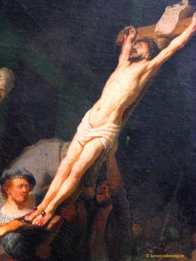 Alte Pinakothek, Rembrandt Kreuzaufrichtung