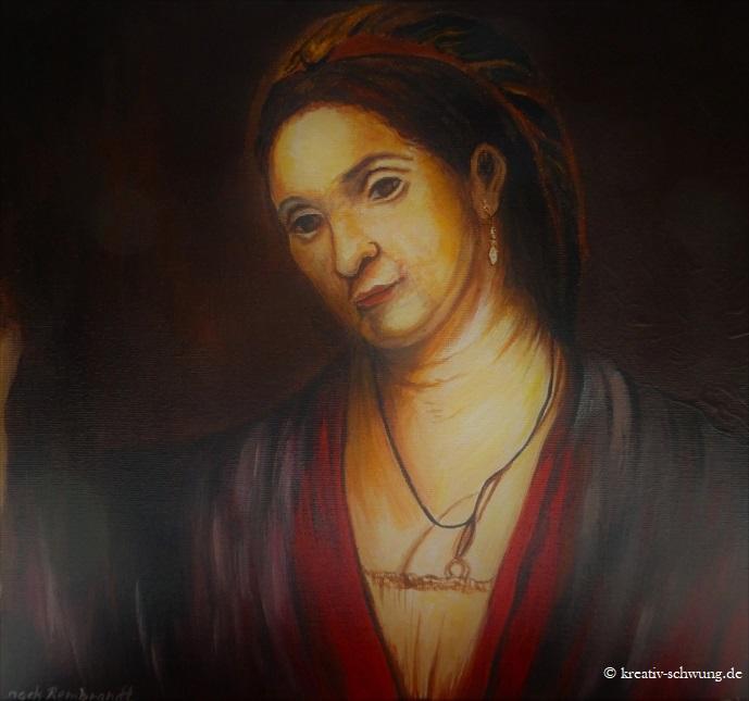 H. Stoffels nach Vorlage von Rembrandt