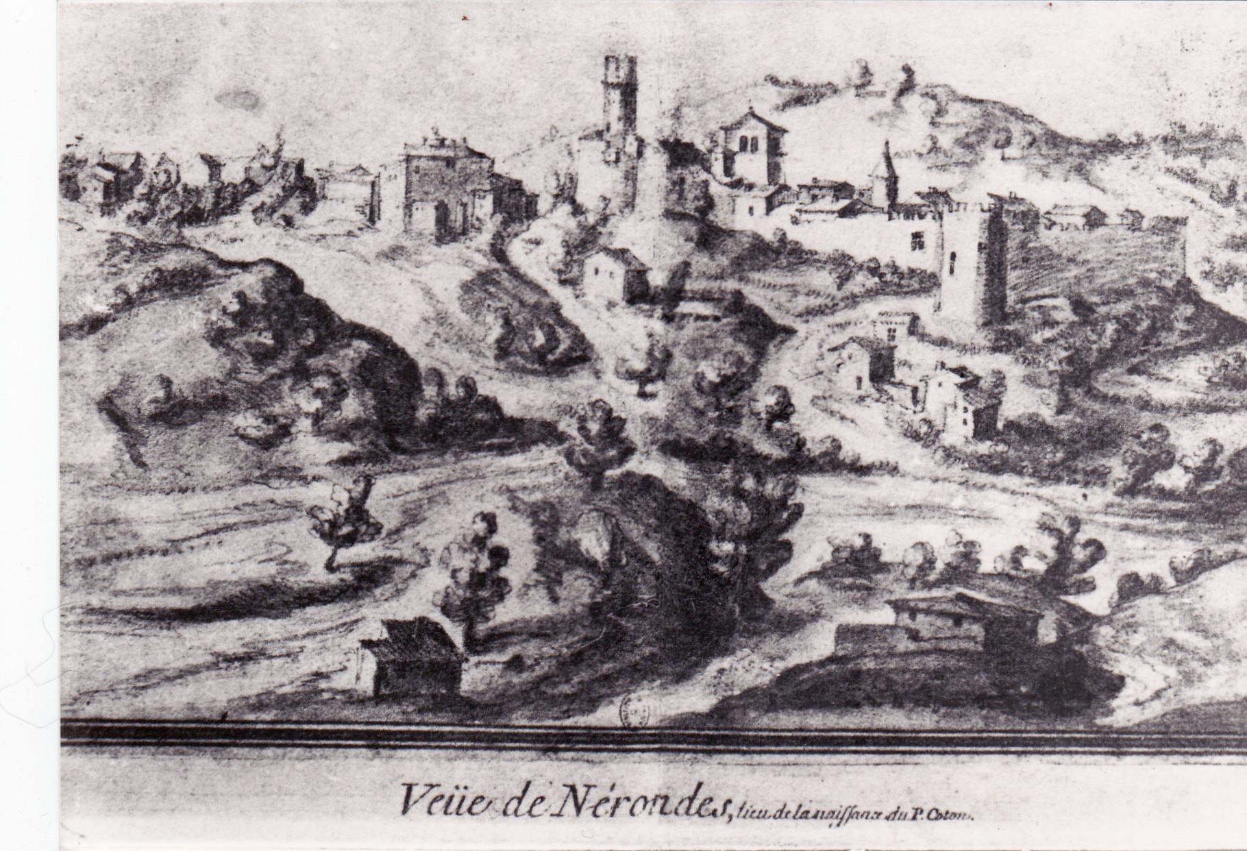 La ville et château de Néronde (1460)