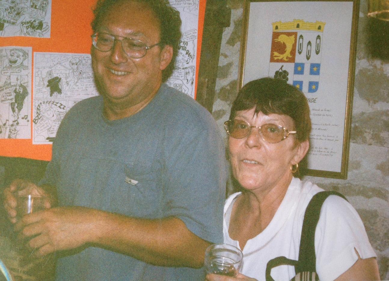 Philippe Romestan et Micheline Berchoud