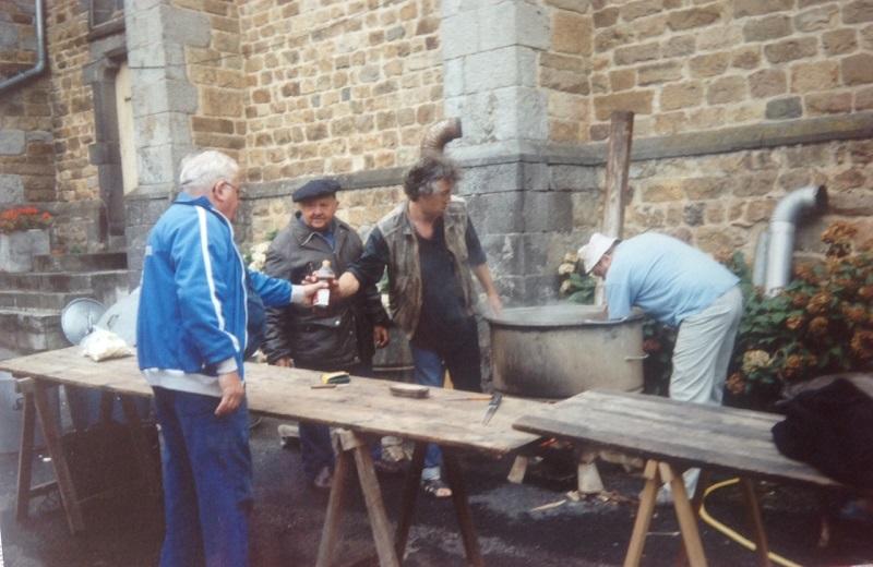 Soupe aux choux, place del'église