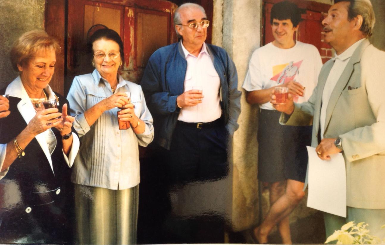 Germaine Devize, Tanette, Mr Pionnier, Paulo et Zouzou