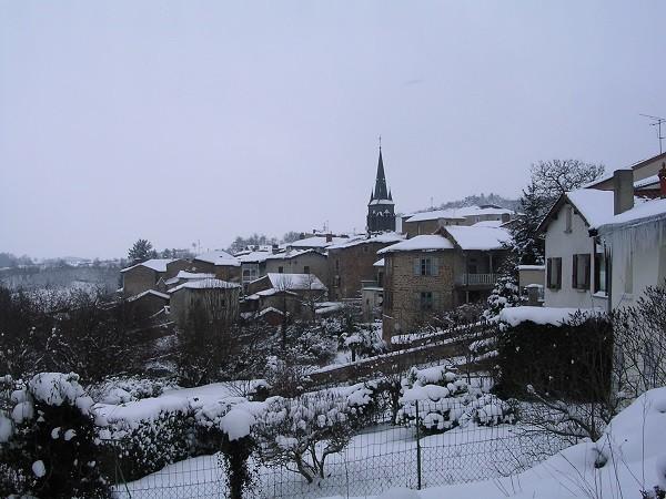 Néronde sous la neige