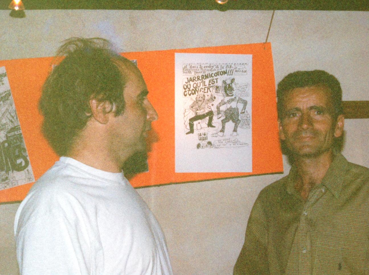 Serge Vial et Philippe Romestan