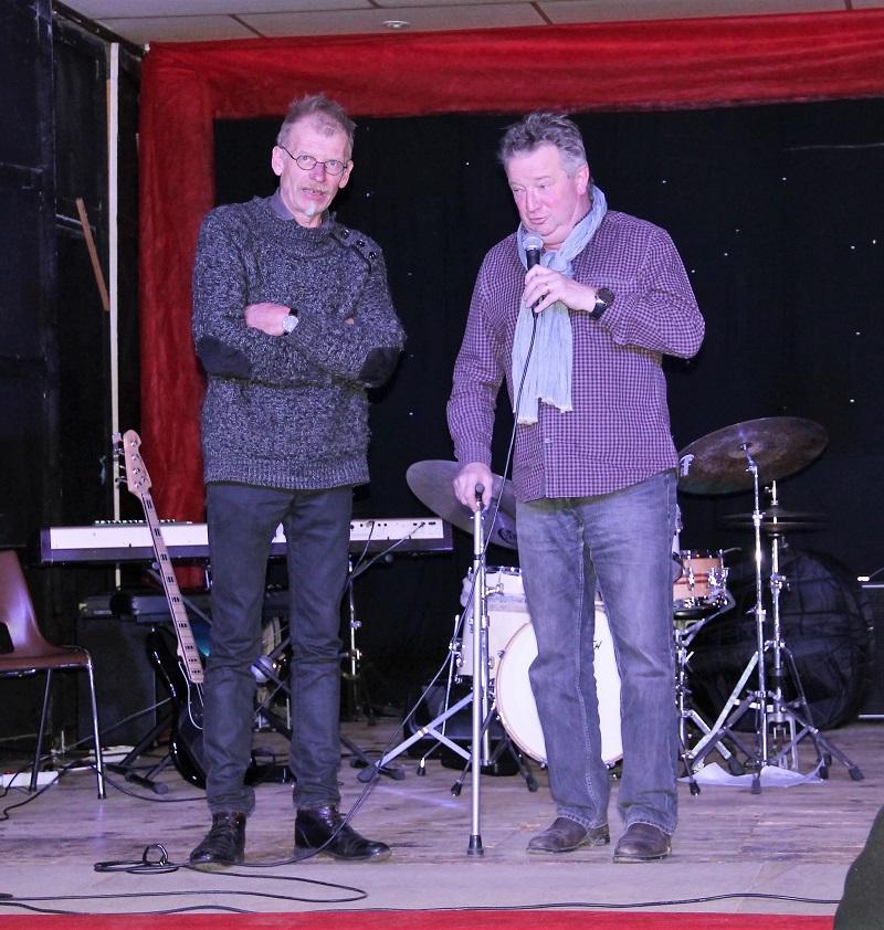 Henning Hoel et Bruno Coassy