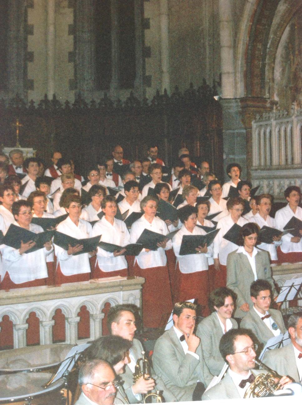 Harmonie de Feurs et chorale de Saint-Galmier