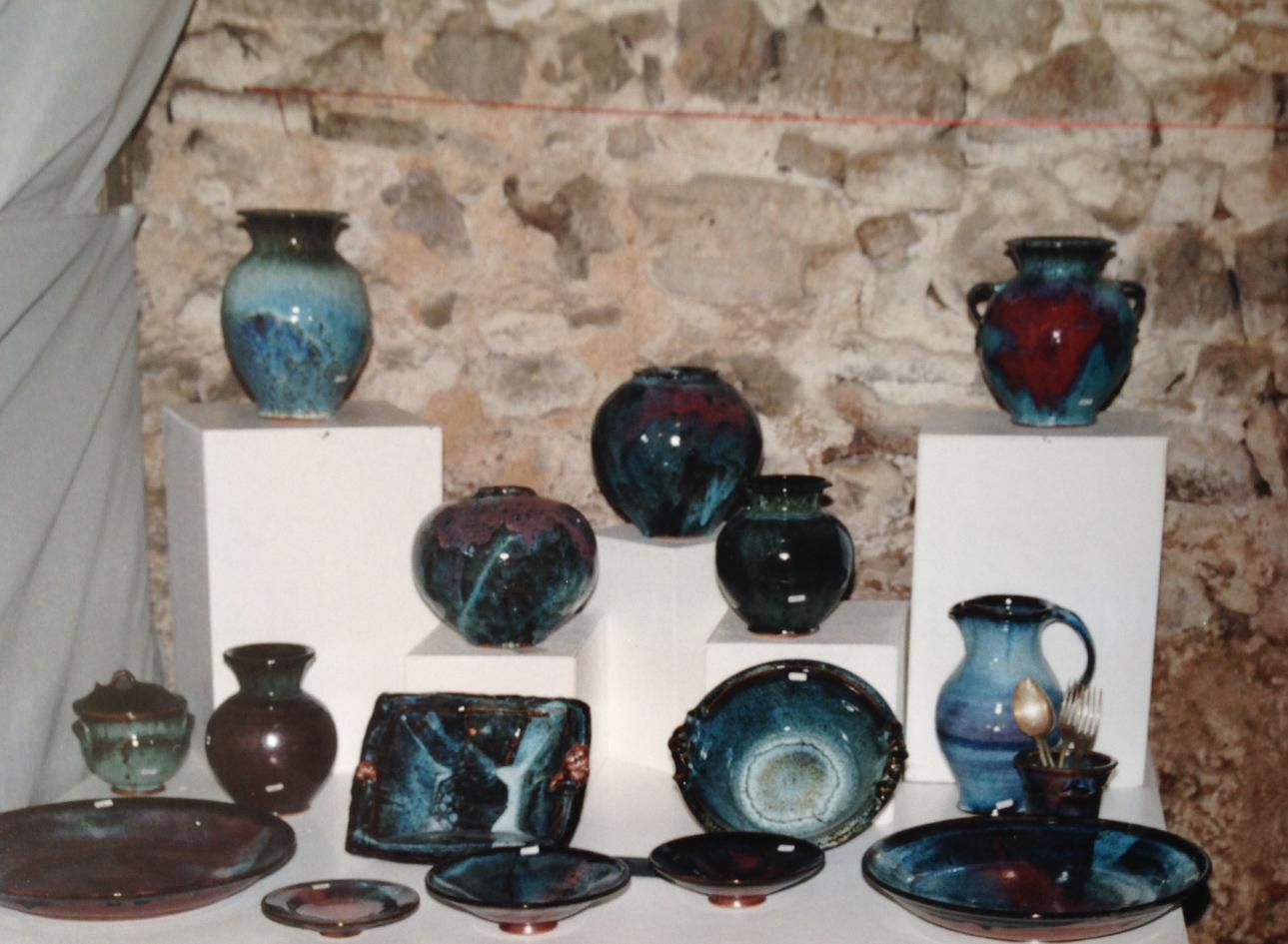 Les poteries de Bernard Chassin
