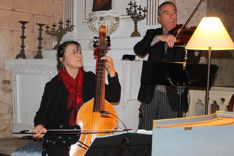 Geneviève Nicolas et Roger Germser