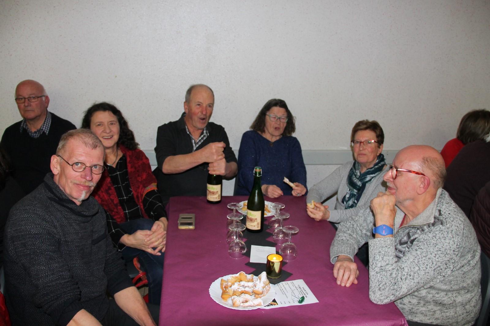 Bugnes et cidre...tradition oblige !