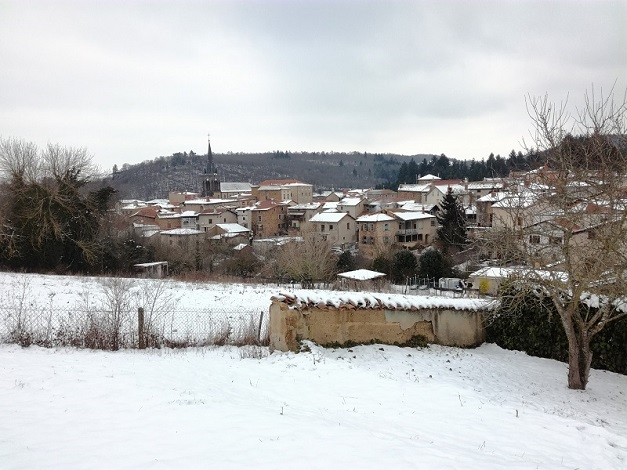 Néronde un jour d'hiver