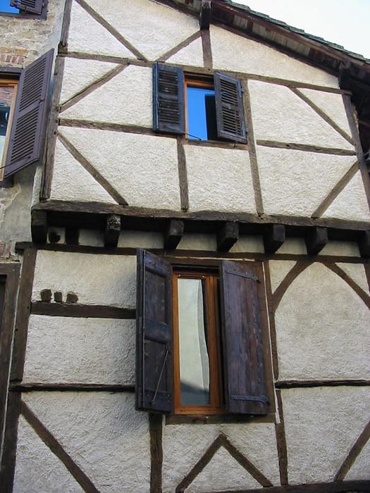 Une maison à colombage 1