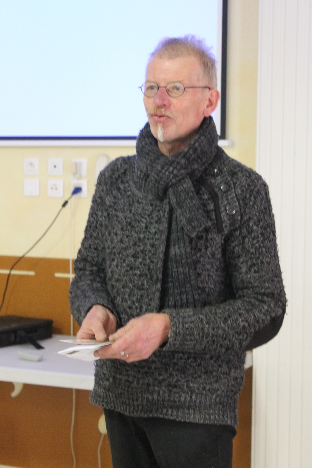 Henning Hoel, président actuel