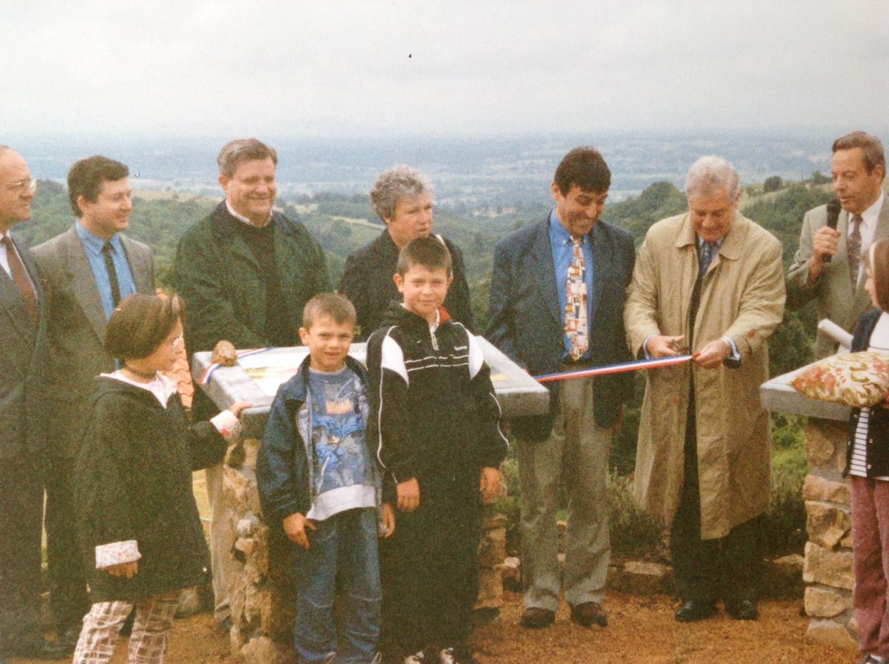 Inauguration en présence de Pascal Clément