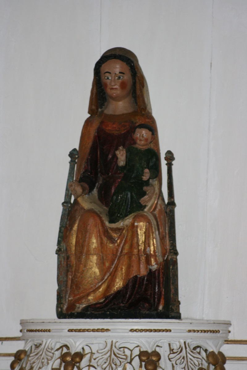 La vierge de la chapelle