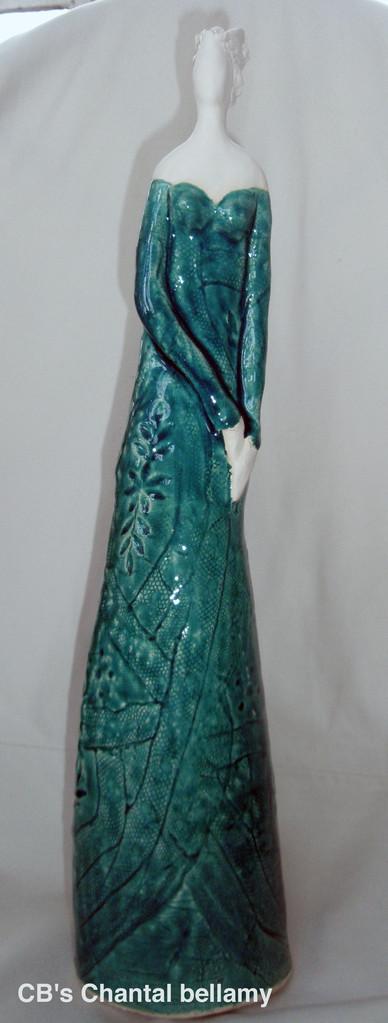 Femme Turquoise - CB