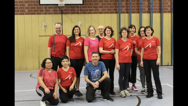 Unsere Power-Fit-Truppe