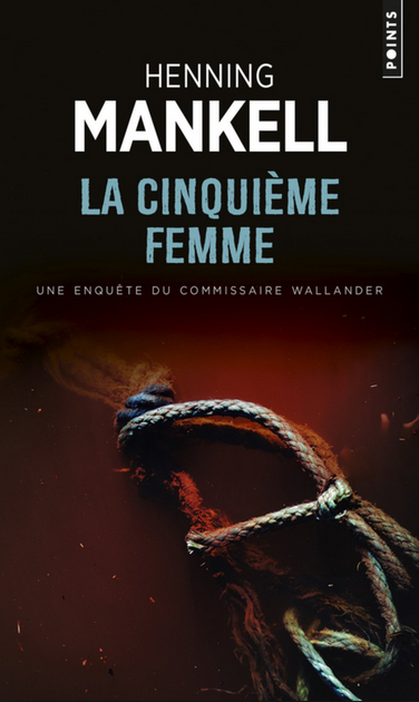 Henning Mankell La cinquieme femme. Cover photo by © Jarno Saren.