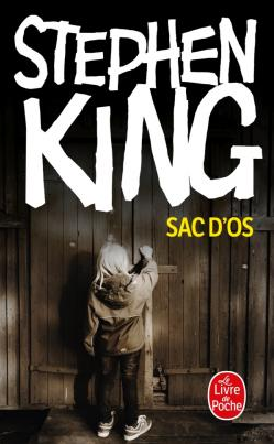 Stephen King Sac d'os. Cover photograph by © Jarno Saren.