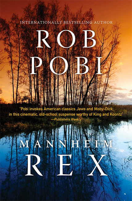 Rob Pobi Man Mannheim Rex. Cover photograph by © Jarno Saren.