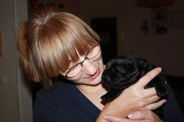 Meine Mama mit unserem Paulchen