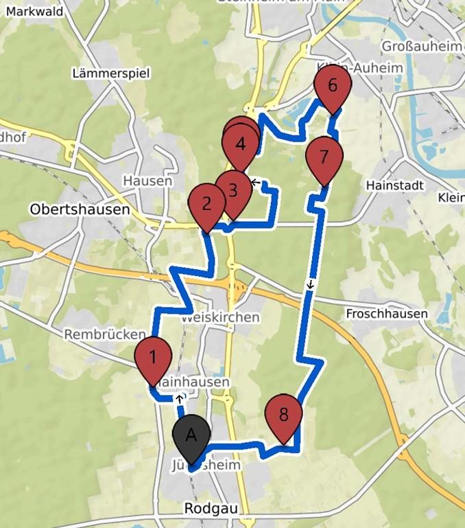 "13.6.2021 2. Familenradtour ""Nordschleife"""