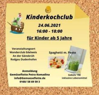24.06.2021 KinderKochClub im WCE