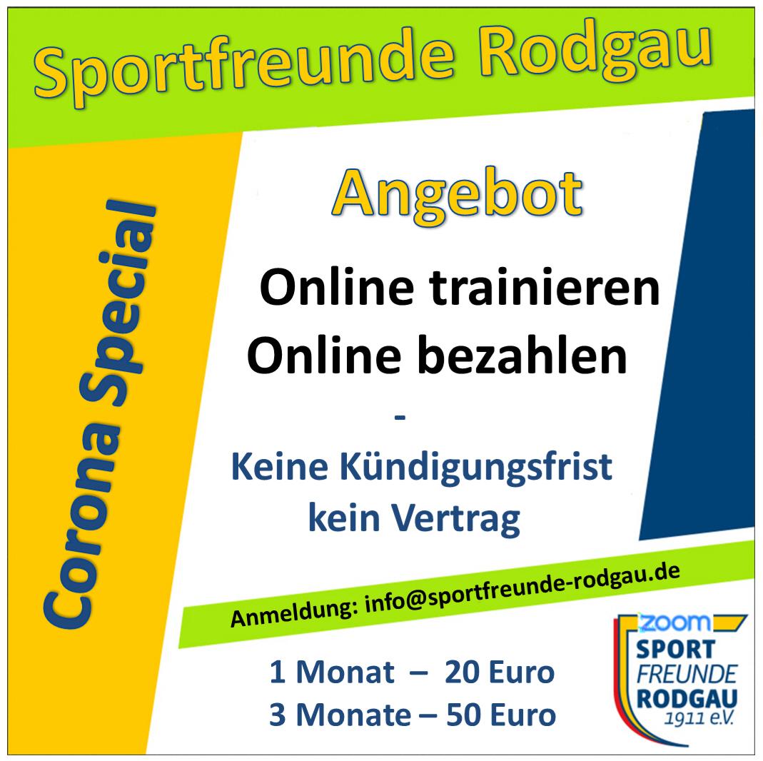 05.02.2021 Sportfreunde neue Online Mitgliedschaft