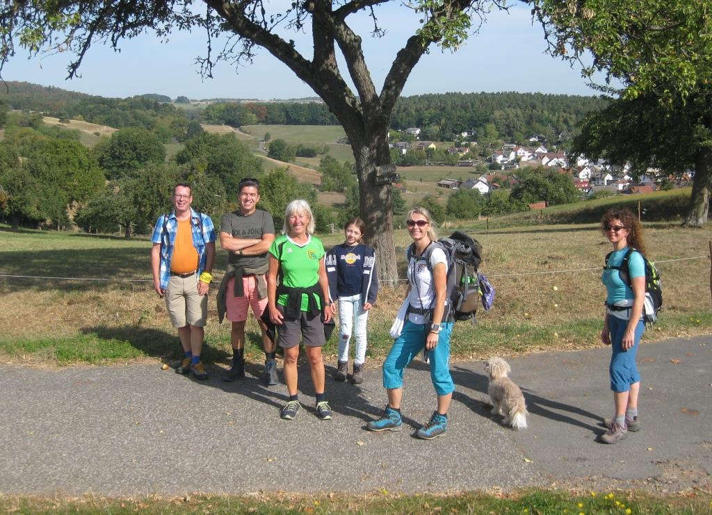 24.10.2021 16 km Rundwanderung um Hammelbach im Odenwald