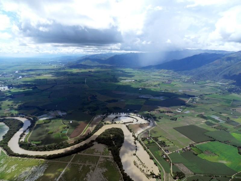 A lot of rain in the rainy season