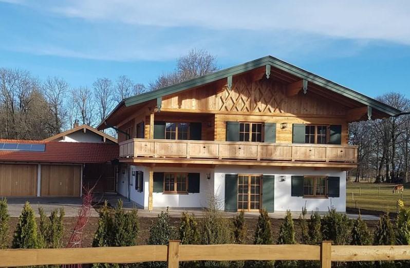 Zweifamilienwohnhaus | OG Massivholzbau | Gmund