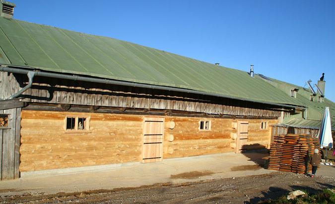 Sanierung des Stalles - Aueralm | Bad Wiessee