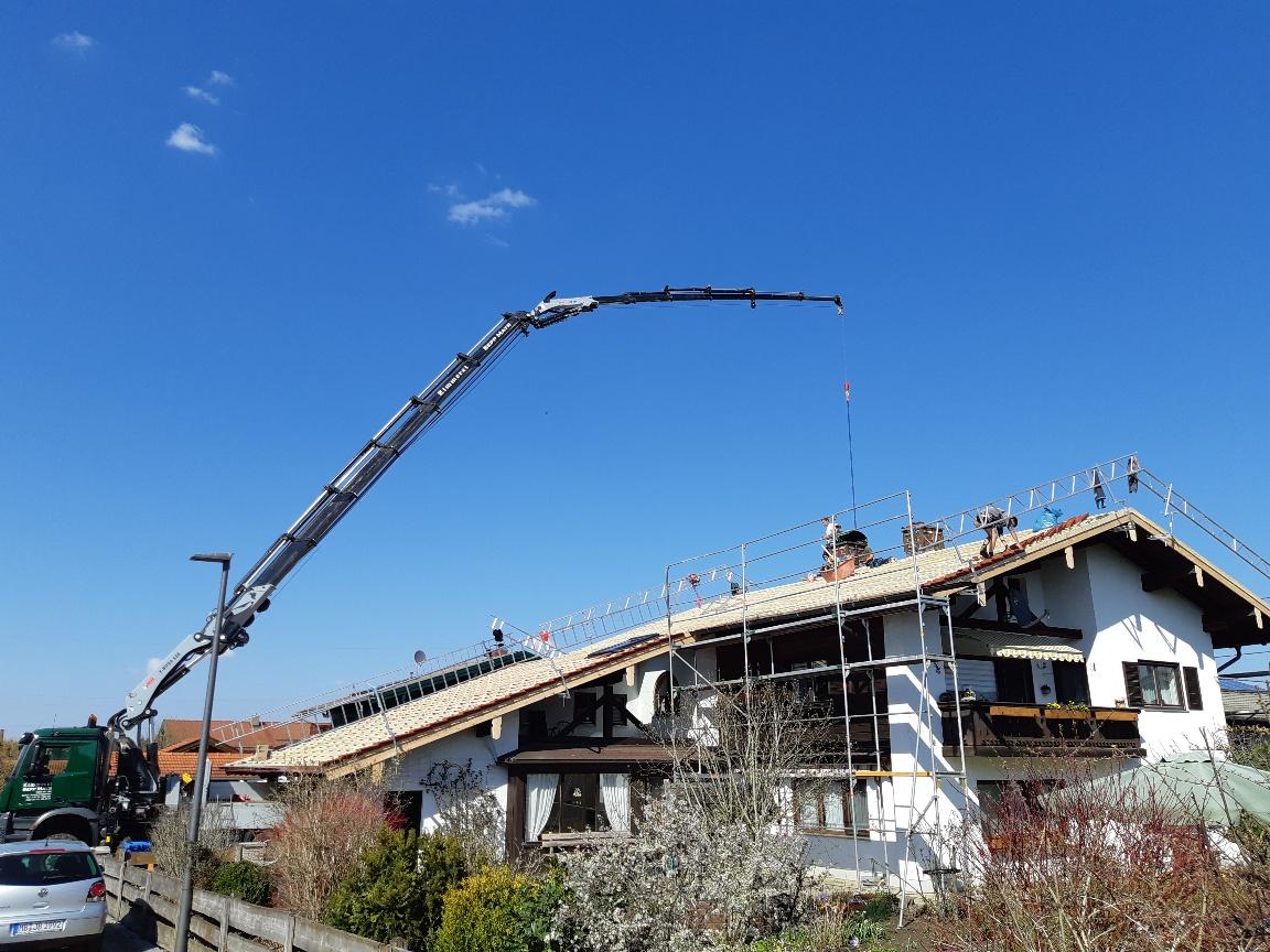Dachsanierung Wohnhaus | Waakirchen 2020