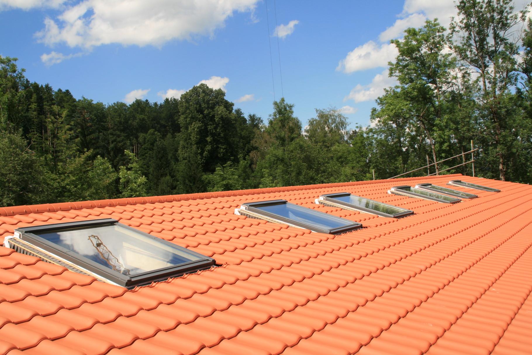 Dachfenster, Feuerwehr + BRK-Zentrum Bad Wiessee