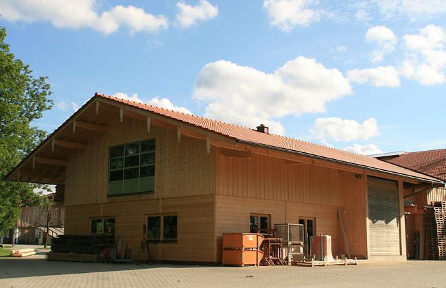 Firmeneigene Werkstatt 2010