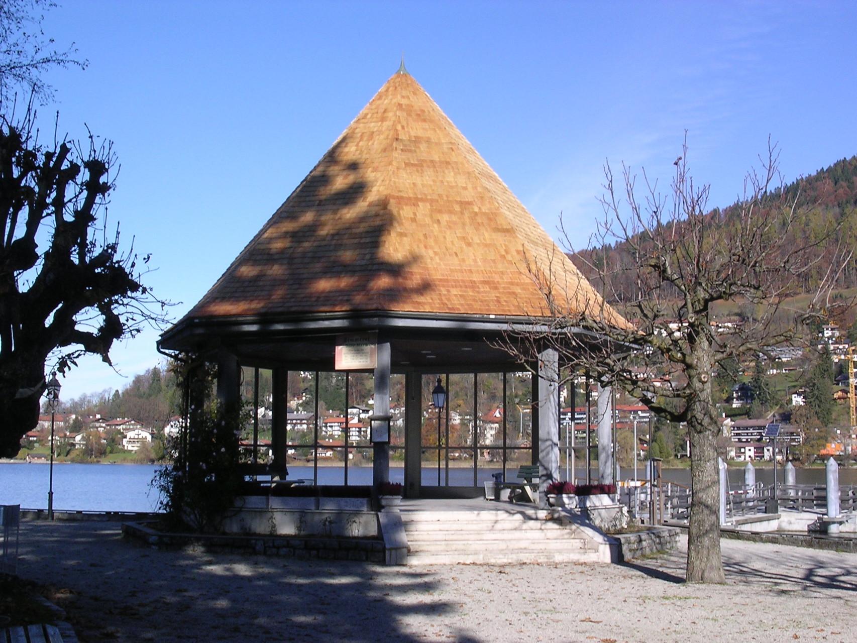 Schindeldeckung, Musikpavillon Rottach-Egern