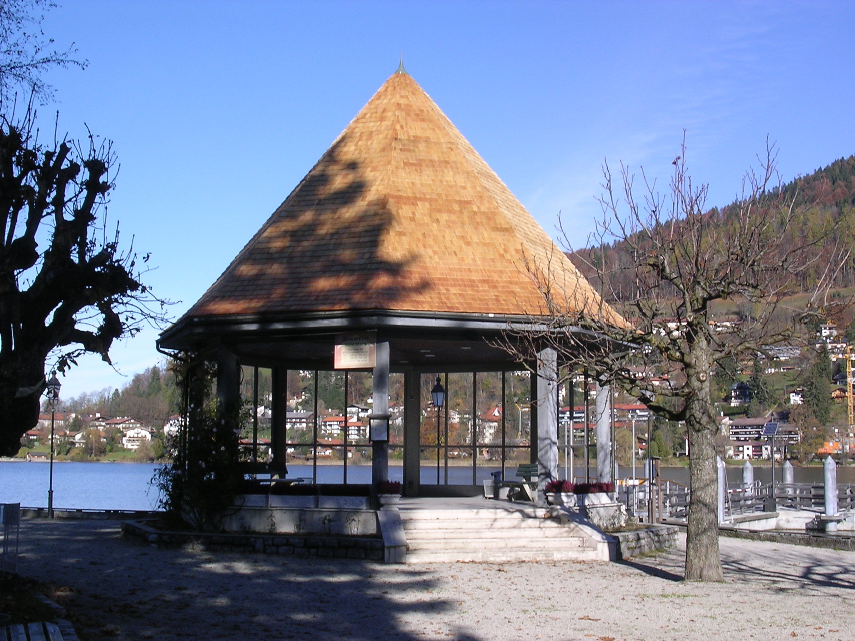Schindeldeckung, Musikpavillon | Rottach-Egern