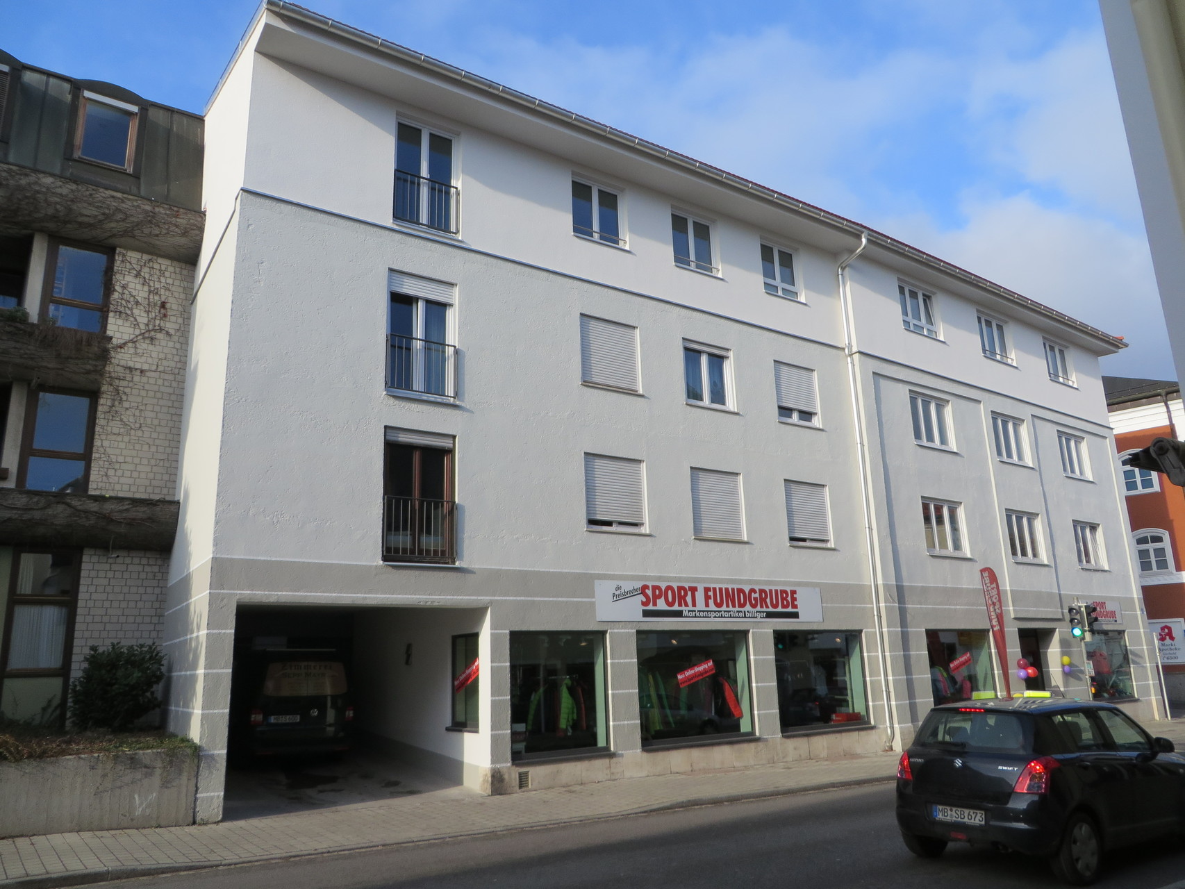 Aufstockung Geschäftshaus, Holzkirchen Zentrum 2014
