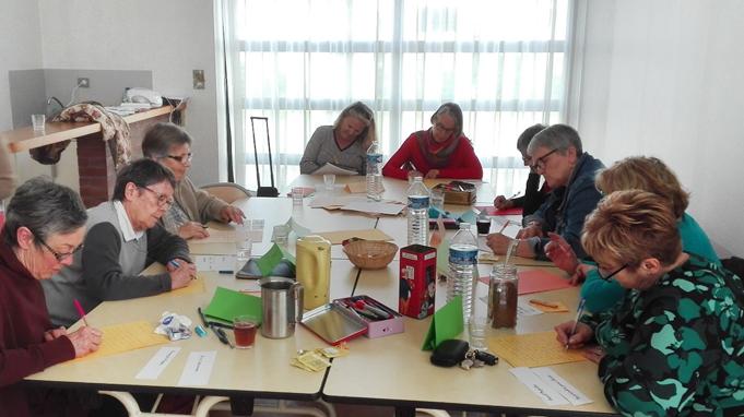 A Portée de Mots anime des ateliers d'écriture en CCAS