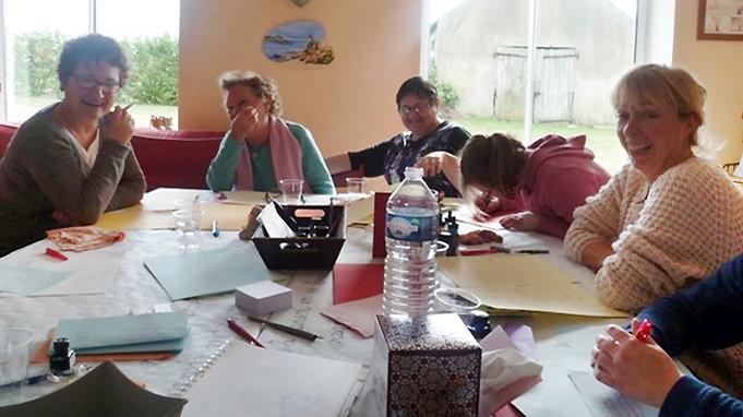 Atelier d'écriture chez un particulier