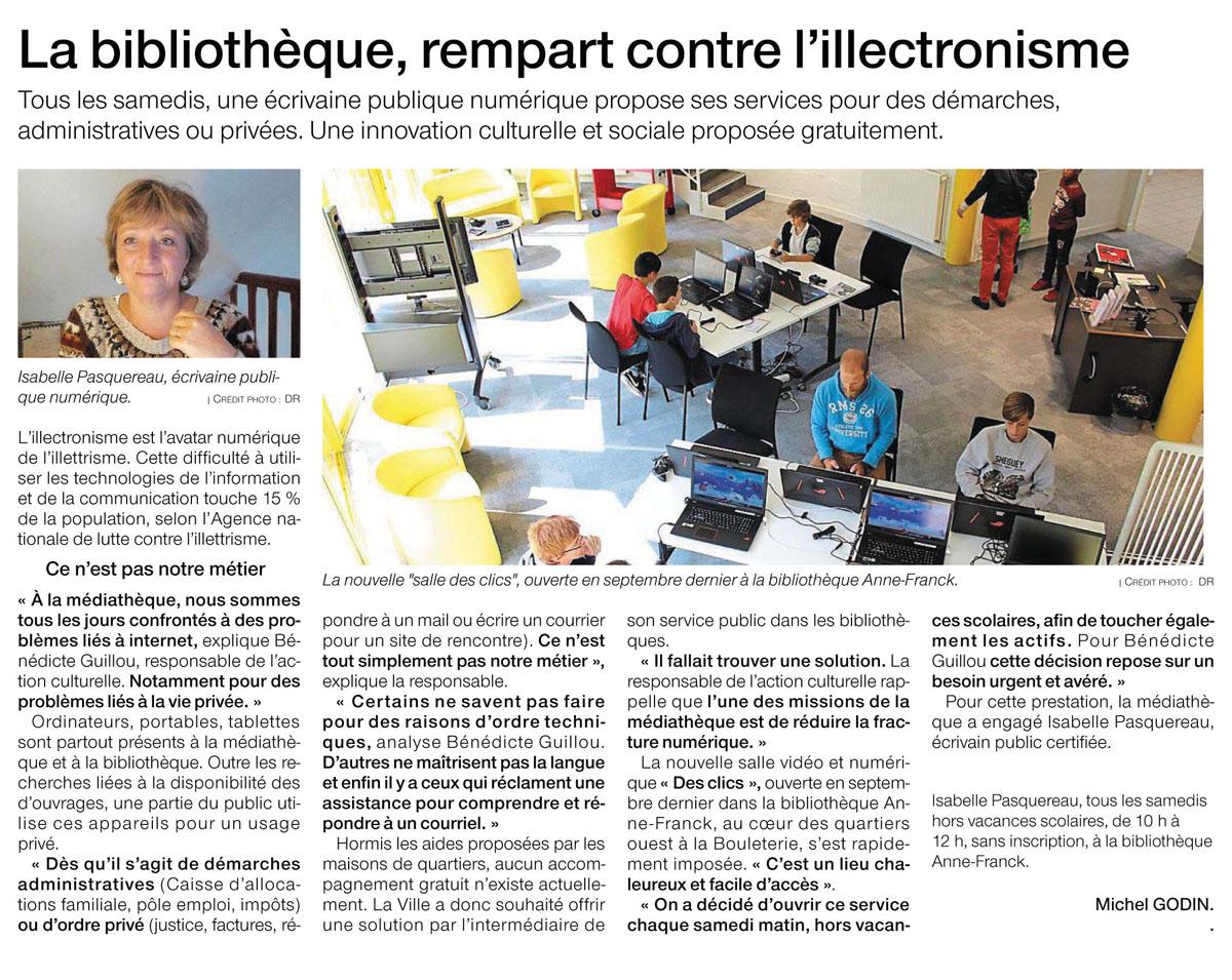 Bibliothèque de Saint-Nazaire - OF décembre 2018