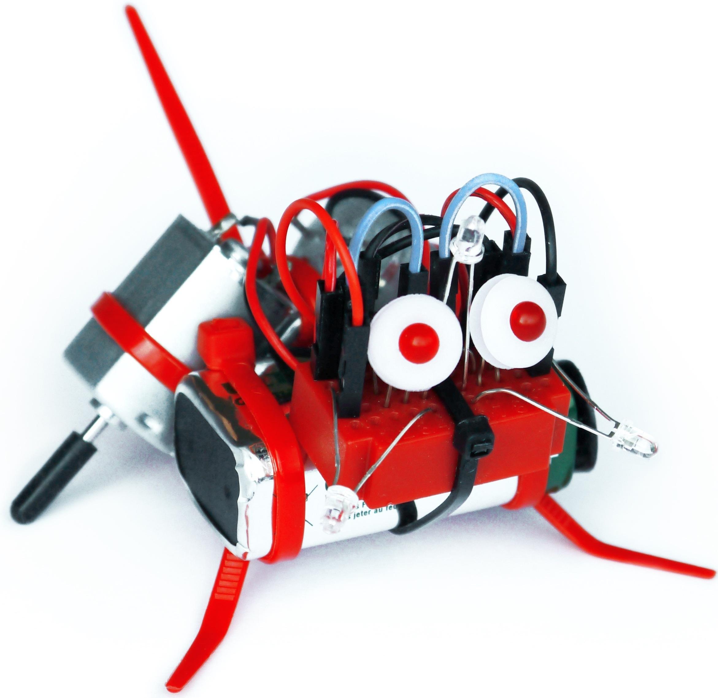 Roboterbausatz mit 8 verblüffenden Funktionen