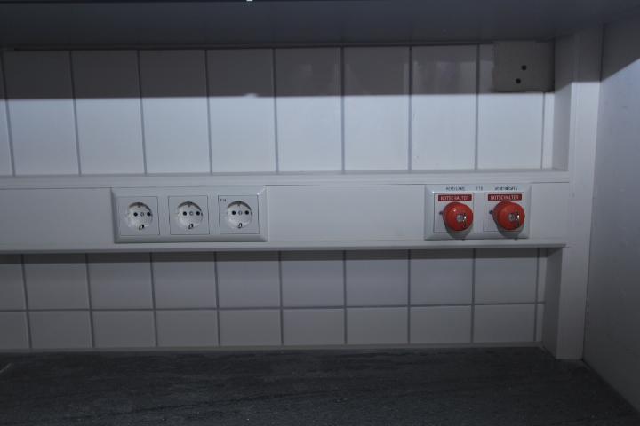 """Dank fachkundiger und finanzieller Unterstützung durch die Firma """"Elektro Wenzel"""" werden alle Elektroinstallationen perfekt ausgeführt!  Ganz herzlichen Dank dafür!"""
