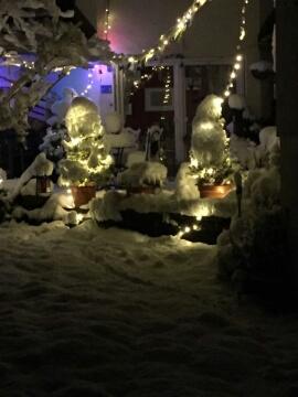 Michels Ganzjahres-Weihnachtsbeleuchtung