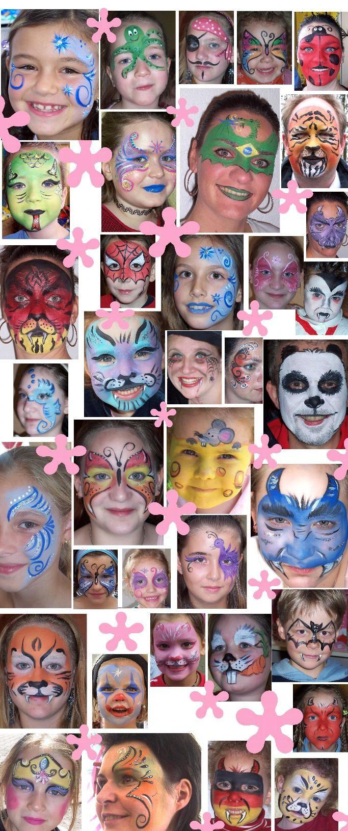 Kinderschminken, Glitzer Tattos, Kinderbetreuung, Ballone, Ballontiere, Basteltisch, Leingarten, Neckarsulm, Heilbronn, Pforzheim, Karlsruhe,  Rastatt, Bretten, Bruchsal