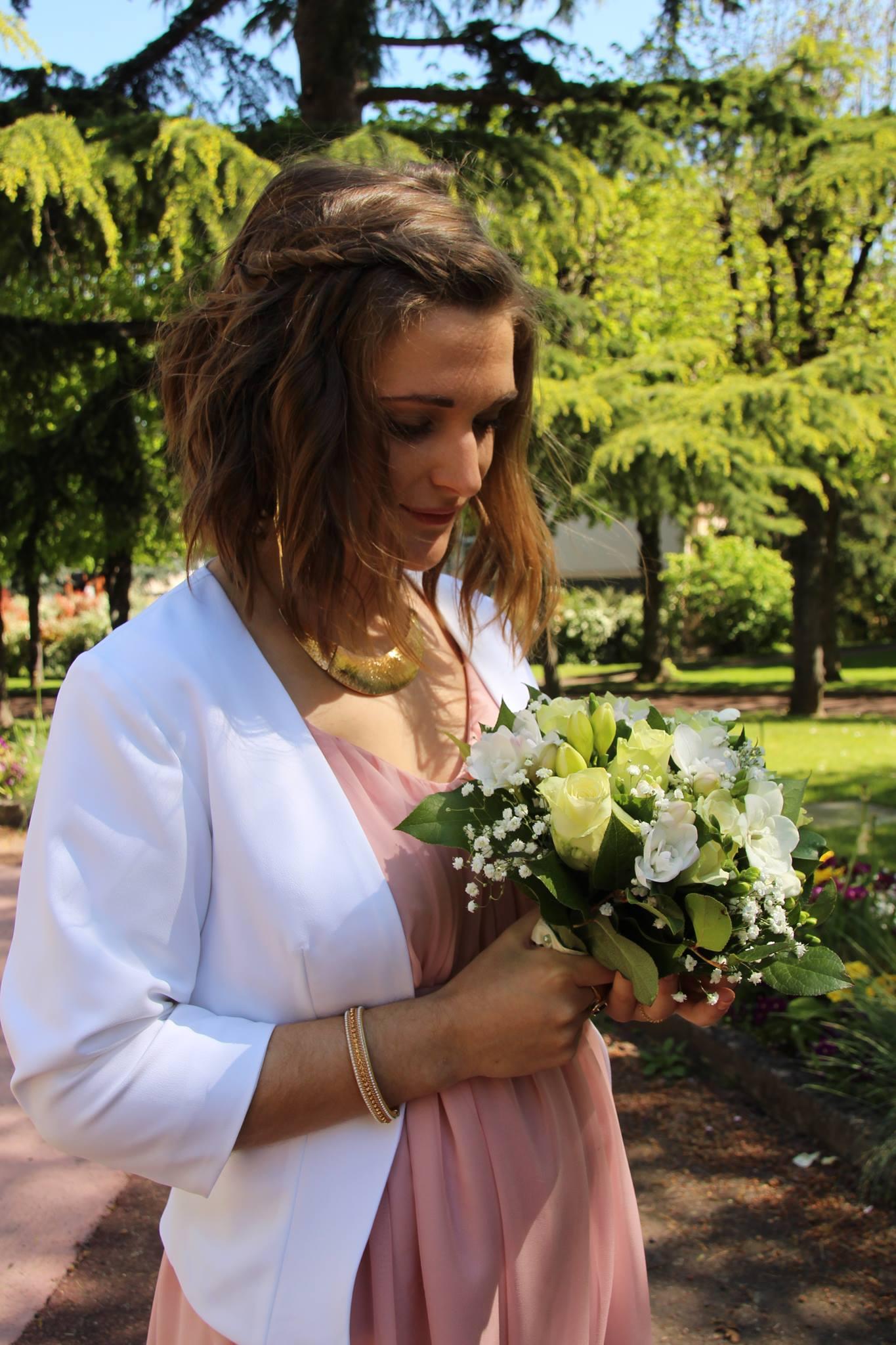 Robe de mariée et veste Cécile