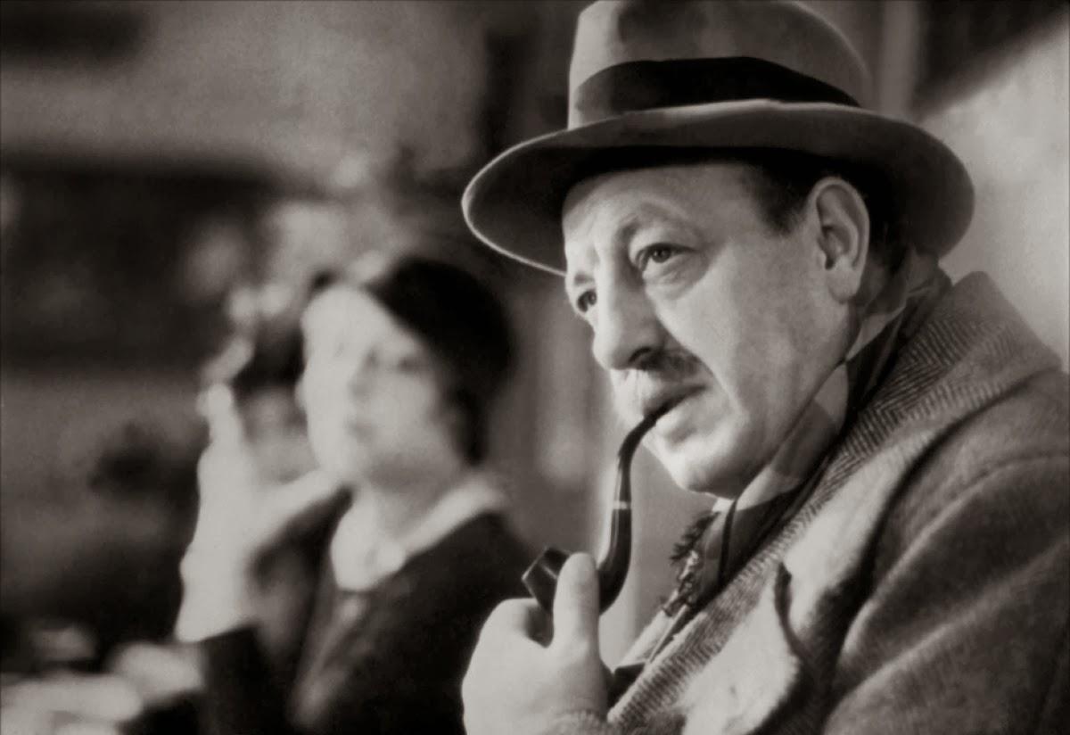 """Harry Baur dans le film """"La Tête d'un Homme"""" en 1933"""
